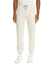 Eleventy Toki Cotton Jersey Sweatpants