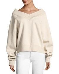 Falacho v neck long sleeve sweatshirt medium 4984107