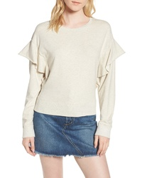 Joe's Faye Ruffle Sweatshirt