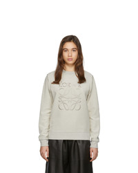 Loewe Off White Anagram Sweatshirt
