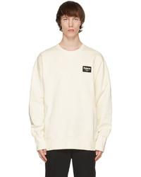 Alexander McQueen Off White Graffiti Badge Sweatshirt
