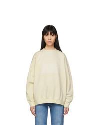 Maison Margiela Off White Memory Of Label Sweatshirt