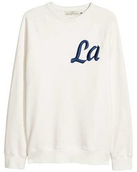 H&M Sweatshirt With Raglan Sleeves