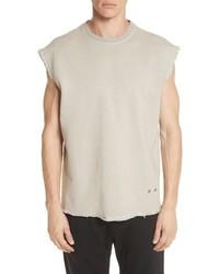 Helmut Lang Distressed Sleeveless T Shirt