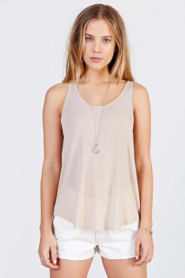 9d2130a8ae Urban Outfitters Project Social T Deep Scoop Tank Top, $29 | Urban ...