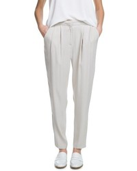 Mango Outlet Crepe Baggy Trousers
