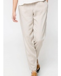 Mango Outlet Tapered Trousers
