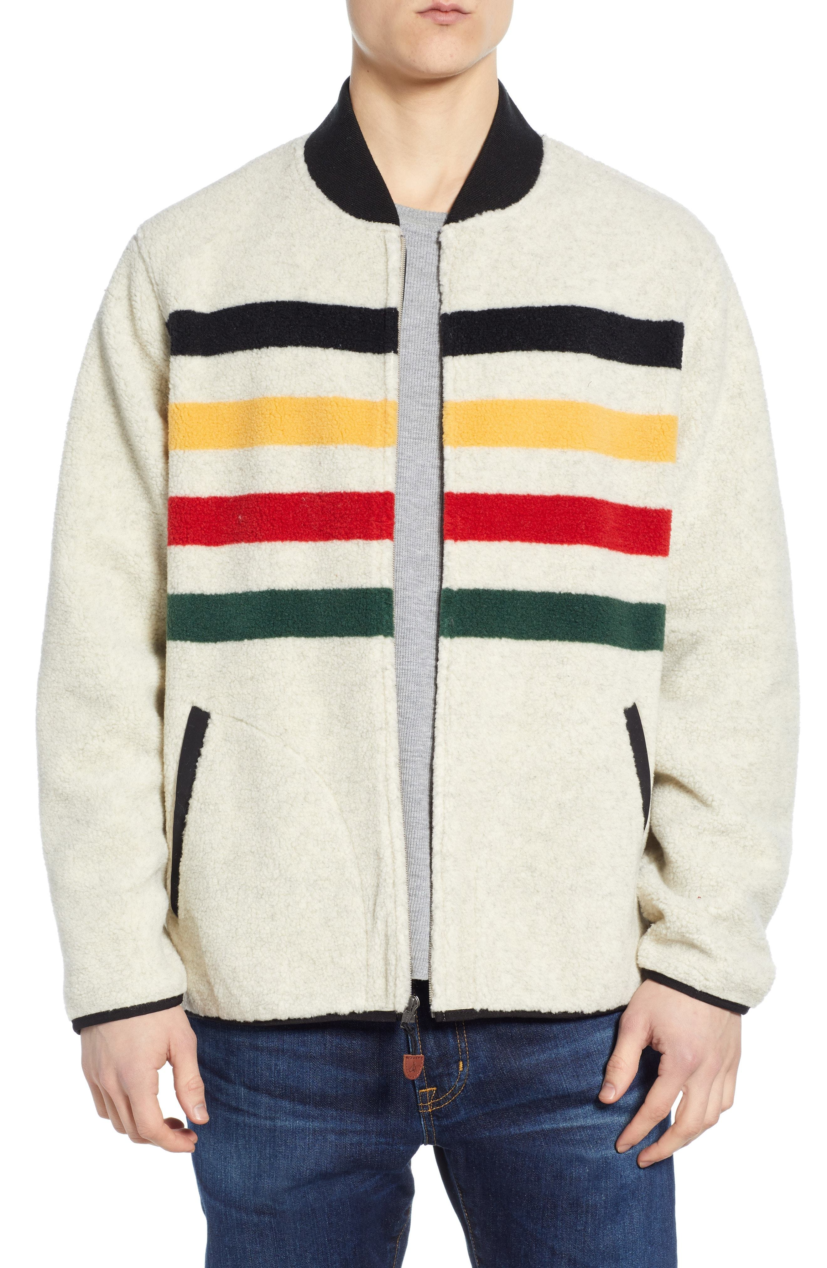 Pendleton Mens Glacier Stripe Fleece Vest