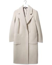 Boutique Textured Melton Coat