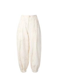 Uma Wang Tie Dye Cropped Trousers