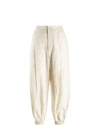 Uma Wang Tie Dye Effect Tapered Trousers