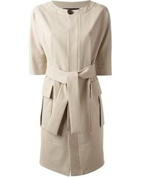 2 belted trench coat medium 78076