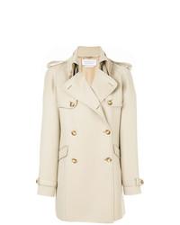 Gabriela Hearst Alina Short Trench Coat