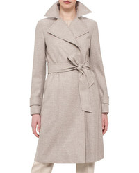 Belted trench coat steppe medium 650725