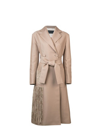Proenza Schouler Chenille Embroidered Long Coat