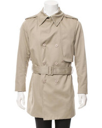 Christian Dior Dior Homme Belted Trench Coat