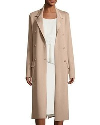 Maiyet Double Breasted Long Trench Coat Sand