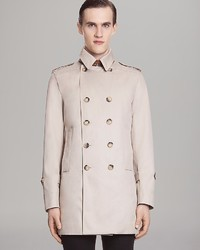 Sandro Double Breasted Trench