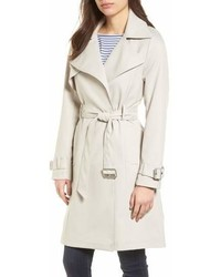 Flowy belted trench coat medium 6992027
