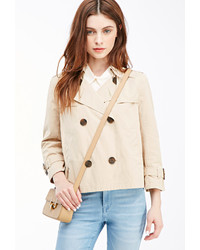 Forever 21 Cropped Trench Coat