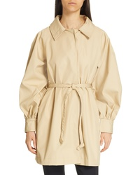 Opening Ceremony Gathered Sleeve Trench Coat