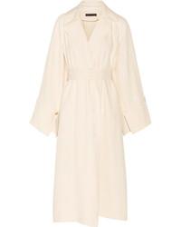 The Row Lana Oversized Shantung Trench Coat