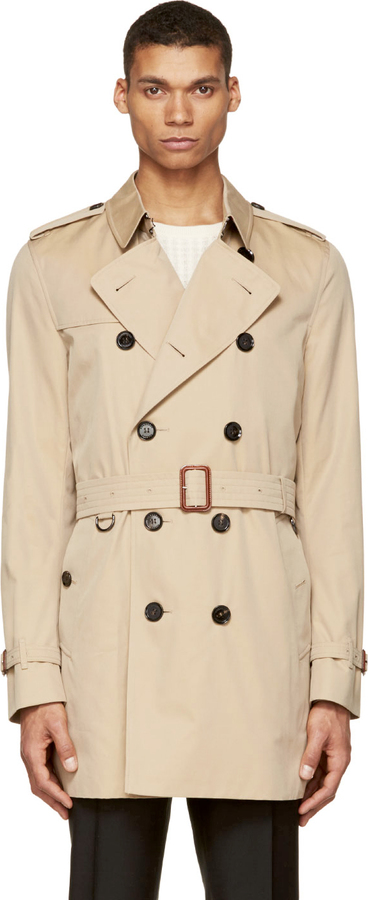 72597be9ae9a Burberry London Beige Britton Trench Coat