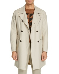 Eidos Moto Cotton Trench Coat