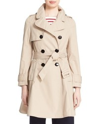 Kate Spade New York Cotton Twill Trench Coat