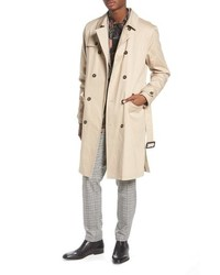 Topman Peached Trench Coat