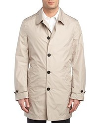 Canali Rain Wind Tech Trench Coat