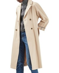 Topshop Relaxed Trench Coat