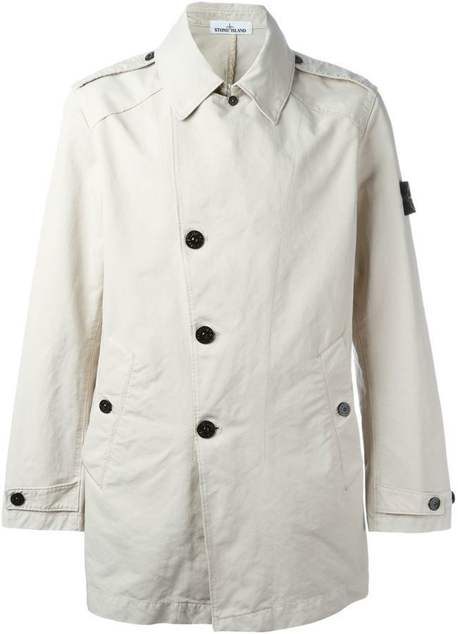 hot products running shoes volume large Short Trench Coat