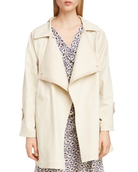 Isabel Marant Stretch Cotton Trench Coat