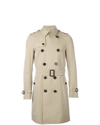 Burberry The Sandringham Long Trench Coat Nude Neutrals
