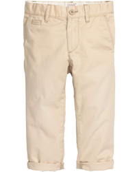 H&M Cotton Chinos Dark Blue Kids