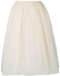 Golden Goose Deluxe Brand A Line Tulle Midi Skirt