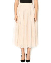 Scarborough fair creme tulle tutu skirt medium 469335