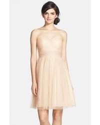 Jenny Yoo Wren Convertible Tulle Fit Flare Dress