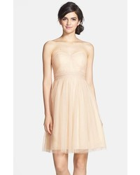 Jenny Yoo Wren Convertible Tulle Fit Flare Dress