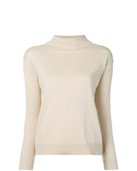 Max Mara Studio Caldeo Mock Neck Sweater