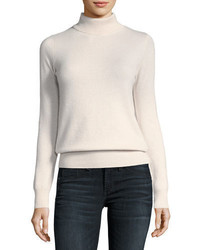 Neiman Marcus Cashmere Collection Classic Cashmere Turtleneck Plus Size