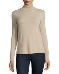 Cashmere collection modern cashmere turtleneck medium 3750530