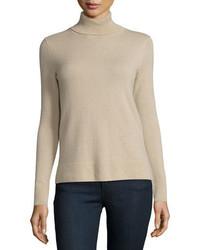 Cashmere collection modern cashmere turtleneck medium 3750530