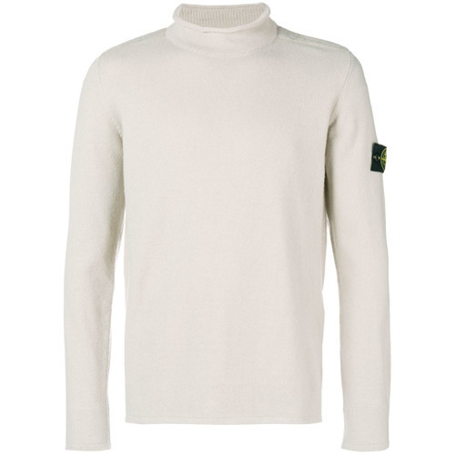 Stone Island Contrast Patch Jumper