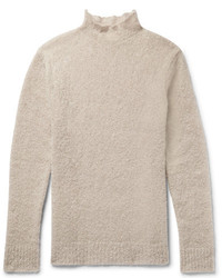 Simon Miller Oversized Mohair And Silk Blend Boucl Rollneck Sweater