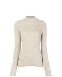 Pringle Of Scotland Ribbed Roll Neck Sweater