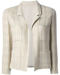 Beige Tweed Jacket