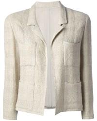Beige Tweed Jacket