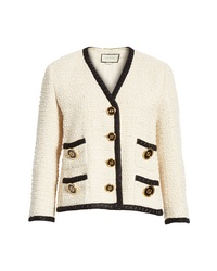 Gucci Boucle Tweed Jacket